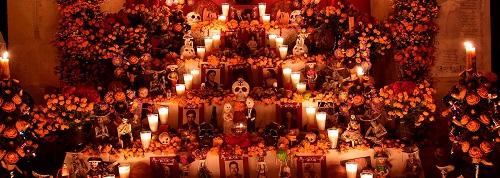 Día de Muertos en Oaxaca México